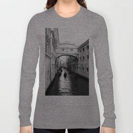 Venice Bridge of Sighs. Italy Long Sleeve T-shirt