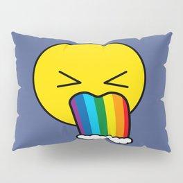 Puke Rainbow - Emoji Pillow Sham
