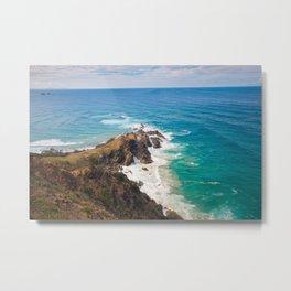 Barbarous Coasts Metal Print