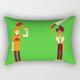 The IT Crowd: Masters of the ITverse! Rectangular Pillow