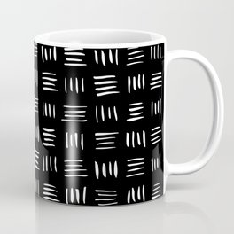 Lines on Lines // white Coffee Mug