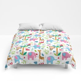 Kids Jungle Pattern Comforters
