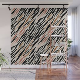 Zebra pattern. Wall Mural