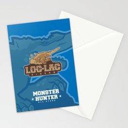 Monster Hunter All Stars - Loc-Lac Riders Stationery Cards