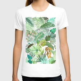 Jungle Tiger 03 T-shirt