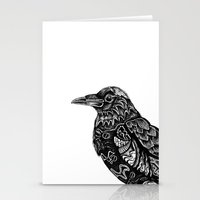 raven Stationery Cards featuring Raven by Ejaculesc