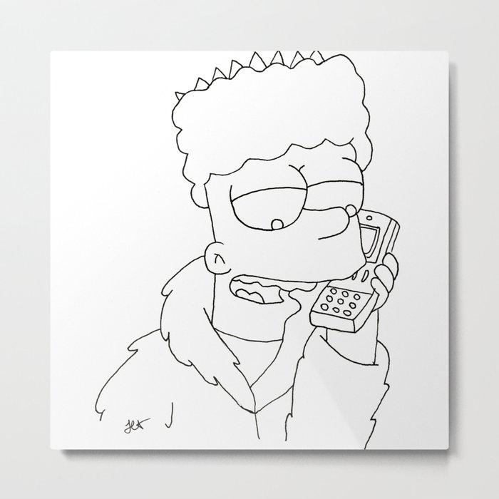 Gangsta Wallpaper Gangsta Black Bart Simpson Gambarku