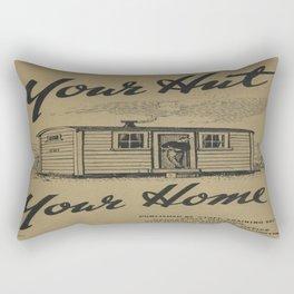 Vintage poster - New Zealand Railways Rectangular Pillow