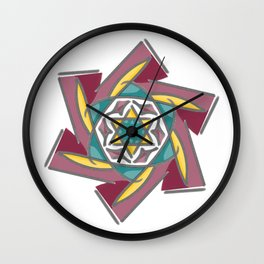 Star of David - 2 Wall Clock