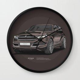 Infiniti FX 45 Artrace body-kit Wall Clock