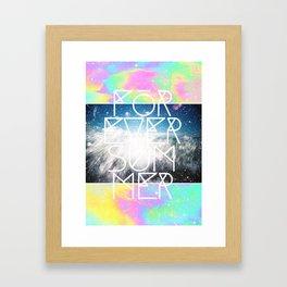 Forever Summer Framed Art Print