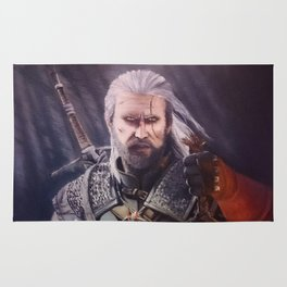 The White Wolf Rug