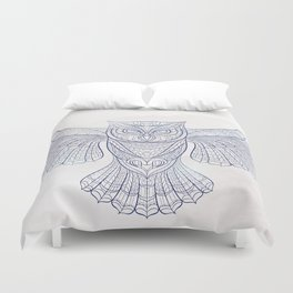 Ethnic Owl Duvet Cover
