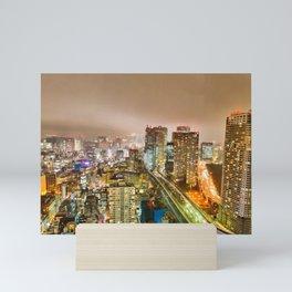 Tokyo Nightlife Mini Art Print