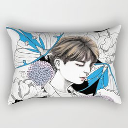 BTS Jin Rectangular Pillow