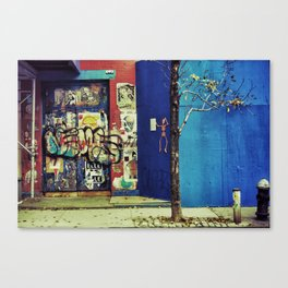 {no little town blues} Canvas Print