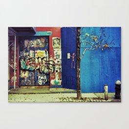 {no little town blues} Canvas Print