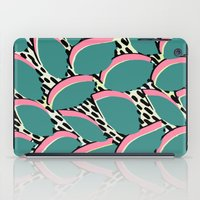 80s iPad Cases featuring 80s leaf pattern by Sarah Bagshaw
