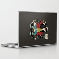 80s Laptop & iPad Skins featuring 80s power! by Louis Roskosch