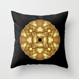 Demon02 Throw Pillow