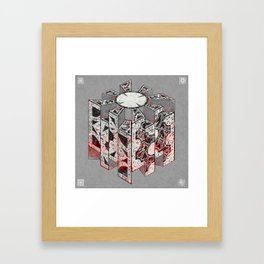 Hellraiser Puzzlebox D Framed Art Print