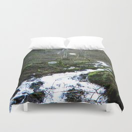 The Other Waterfall Duvet Cover