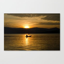 Walk on Water Canvas Print