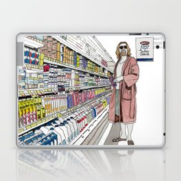 Jeffrey Lebowski and Milk. Laptop & iPad Skin