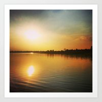 Sunset Dream Art Print