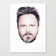 Aaron Paul Digital Portrait Canvas Print