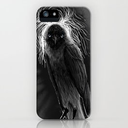 Evil Eye Jackdaw iPhone Case