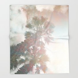 Tropical Day Dream Throw Blanket