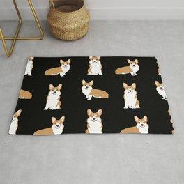 Corgis - Cute corgi, dog pet, corgi decor, corgi pillow, corgi bedding, corgi pattern, cute corgi Rug