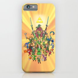 The Legend of Zelda 30th anniversary iPhone Case