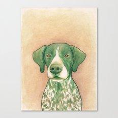 Pointer dog - Jola 02 Canvas Print