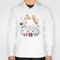 grand theft auto Hoodies featuring Grand Theft Mario by Fuacka