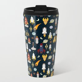 Rockets Metal Travel Mug