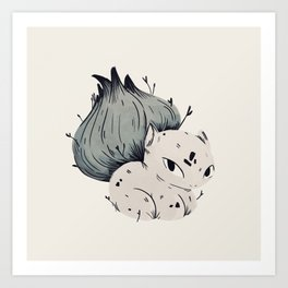 Plant Dude Art Print