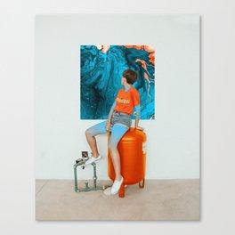 Zeona Canvas Print