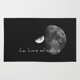 La lune solitaire Rug