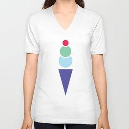 We all scream for ice cream! Unisex V-Neck