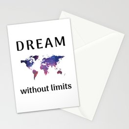 DREAM without limits Stationery Cards