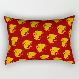 Multi Pendragon Wyvern Rectangular Pillow