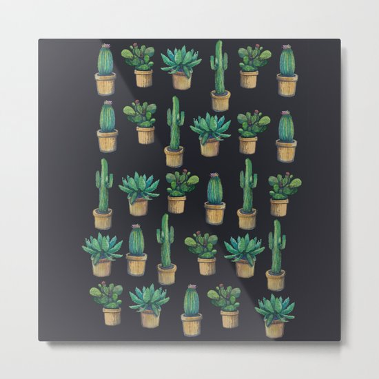 cactus cactus  Metal Print