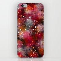 splatter iPhone & iPod Skins featuring Splatter by KRArtwork