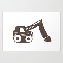 Dildozer Art Print