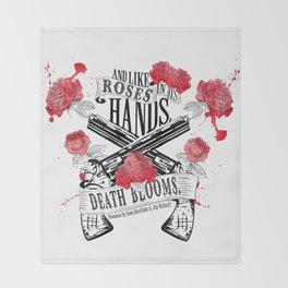 Illuminae - Death Blooms Throw Blanket