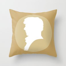 Sherlock in Yellow Throw Pillow