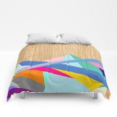 Geometric Color-Design in Wood Comforters