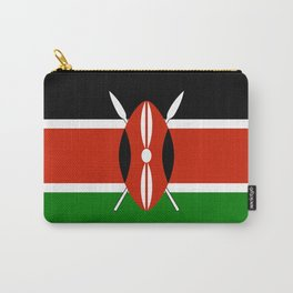 National flag of Kenya - Authentic version, to scale and color Carry-All Pouch